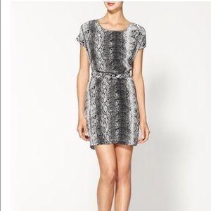 Joie silk snake print dress